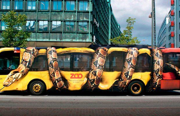 Publicidad en el transporte público